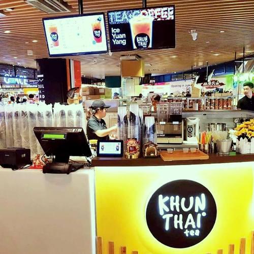 Khun Thai Tea in Century Square mall in Singapore.