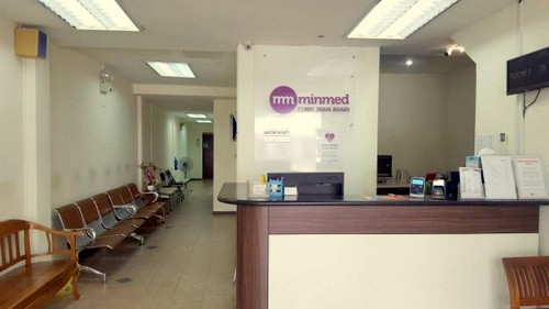 Minmed medical clinic at 30 Haig Road in Singapore.