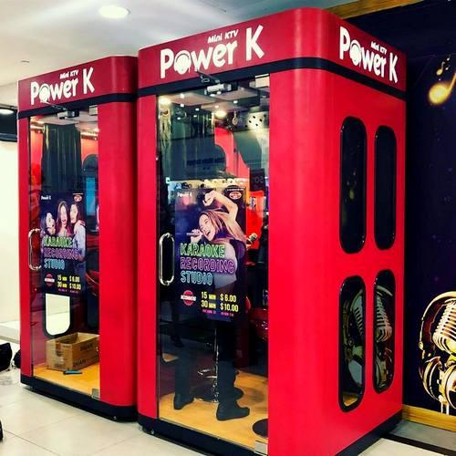 Power K - Mini KTV Karaoke Booths in Singapore - SHOPSinSG