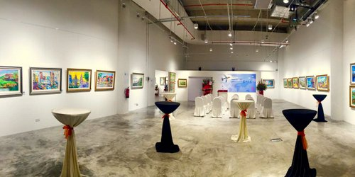 The Art Space gallery at Suntec City in Singapore.