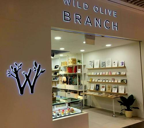Wild Olive Branch store at Suntec City shopping centre in Singapore.