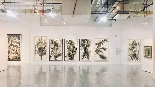 Artcommune Gallery exhibition in Singapore.