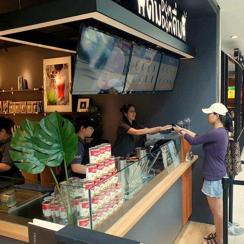 Dum Dum Thai Drinks shop at Bukit Panjang Plaza in Singapore.