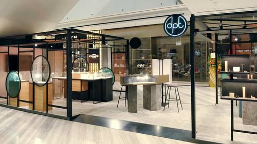 Diamenti Per Tutti jewellery store at Jewel Changi Airport mall in Singapore.