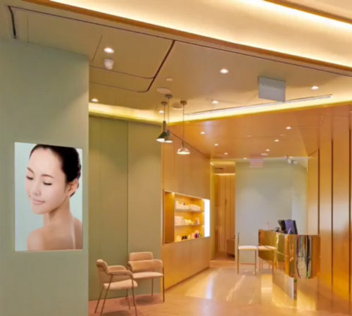 Expressions beauty salon at Jewel Changi Airport mall in Singapore.