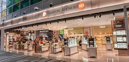 Fashion Avenue store at Changi Airport (Terminal 3) in Singapore.