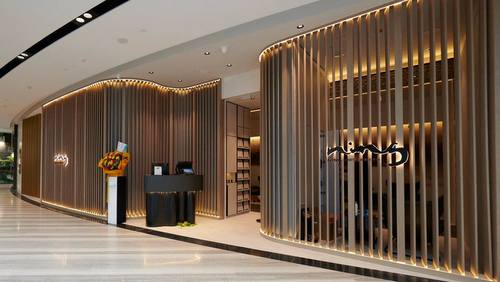 NING foot & back spa at Jewel Changi Airport mall in Singapore.