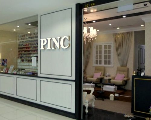 PINC nail salon at Bugis Junction mall in Singapore.