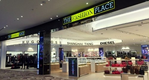 The Fashion Place at Changi Airport's Terminal 4 in Singapore.