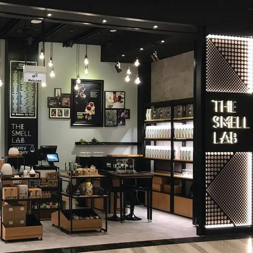 The Smell Lab shop at Jewel Changi Airport mall in Singapore.