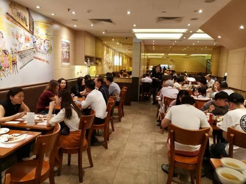 Kam's Roast restaurant in Singapore.