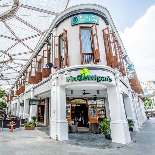McGettigan's Irish restaurant & bar at Clarke Quay in Singapore.