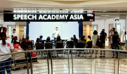 Speech Academy Asia Woodlands in Singapore.