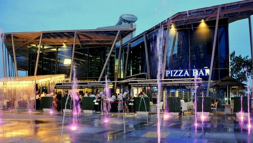 Verve Pizza Bar at Clarke Quay in Singapore.