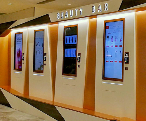 OUE Beauty Bar at OUE Downtown Gallery mall in Singapore.