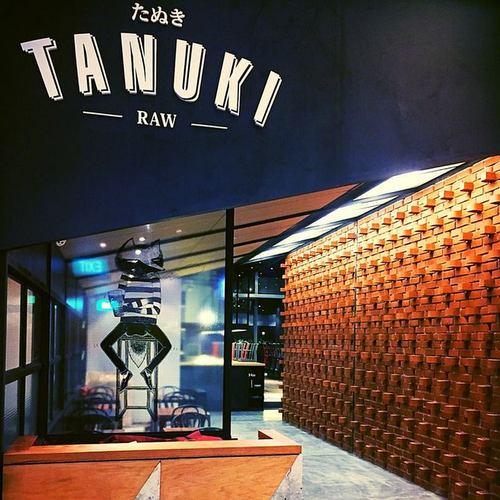 Tanuki Raw Bar & Restaurant in Singapore.
