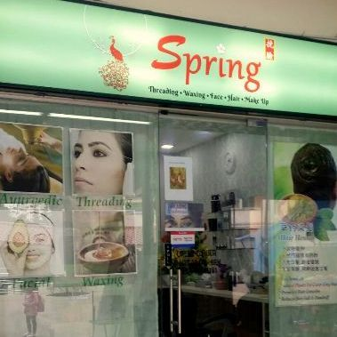 Spring Beauty salon at Eastpoint Mall in Singapore.