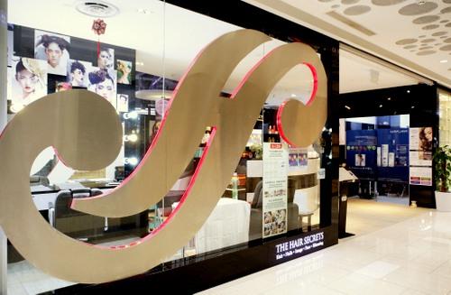 The Hair Secrets salon in Singapore.