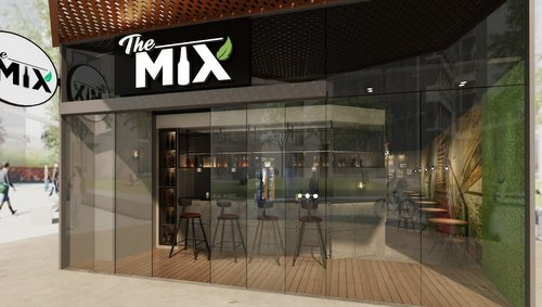 The Mix Bar at Funan mall in Singapore.