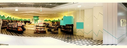 THINK stationery shop at Funan mall in Singapore.