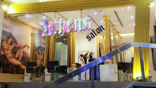Athens Salon hair salon in Singapore.
