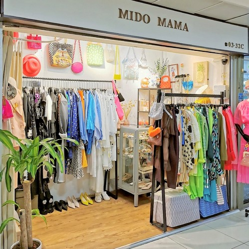 Mido Mama clothing boutique at Far East Plaza mall in Singapore.