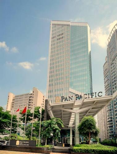 Pan Pacific Singapore hotel.