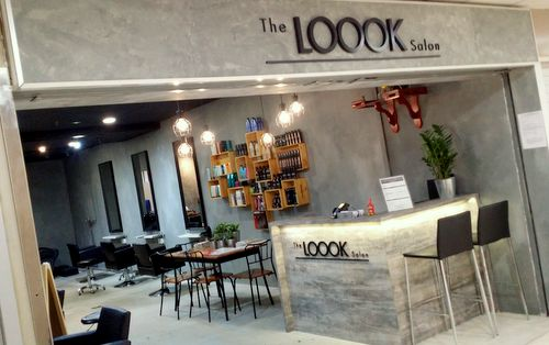 The LOOOK Salon hair salon at Far East Plaza shopping mall in Singapore.