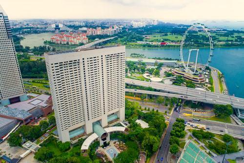The Ritz-Carlton, Millenia Singapore hotel.