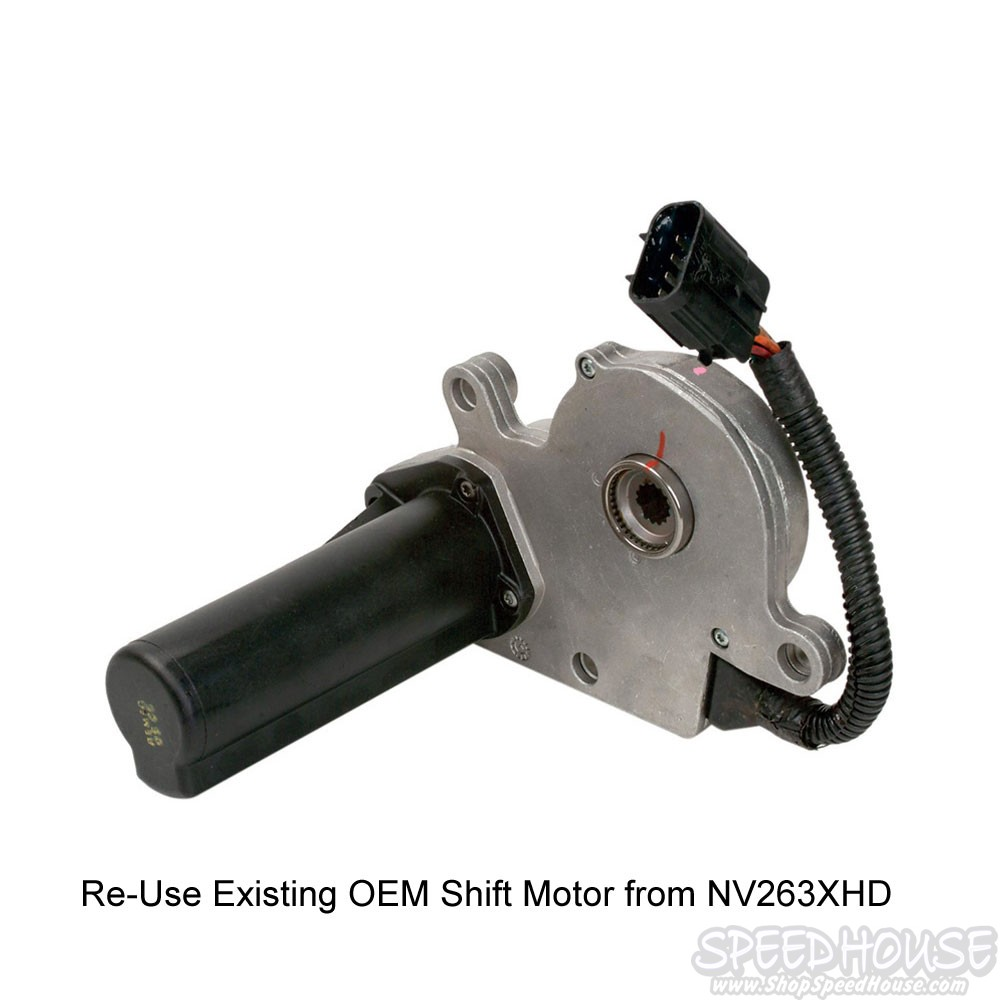 medium resolution of  duramax transfer case nv273 conversion shift motor