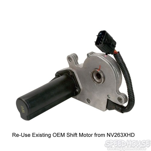 small resolution of  duramax transfer case nv273 conversion shift motor