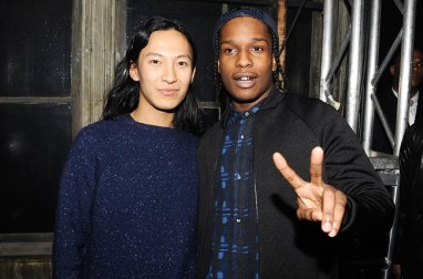 Wang and ROCKY, fashion designer who's career exploded thanks to Mrs. Obama. And recently added fashion icon, Mr. ASAP ROCKY.