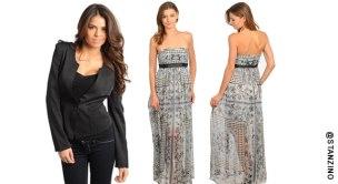 Shop the maxi dress trend with us, @Stanzino.com