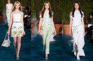 Tory Burch, SS14 NYFW--clean and cute, in a Burch kind of way. Good thing she met Oprah, right?