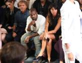 Mr. West, Mr. West, by himself, he just so impressed. Oh Kanye, apparently designers are in fear of Kanye on the verge of fashion thievery?! ...Doubt it.
