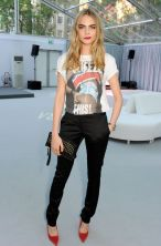 Cara Delevinge is one of UK's MOST Stylish Women. Do you think this grungey little teenager has what it takes to be sophisticated, outside of the runway? ..She's Amazing, if you ask us.