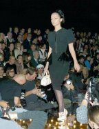 Walking the Runway: Christina Ricci for Louis Vuitton.