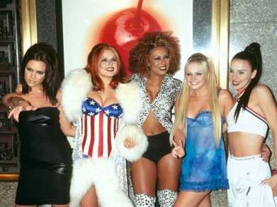 Spice Girls, were the epitome of 90s fashion.