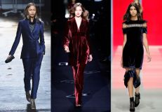 Christopher Kane, Diane von Furstenberg, and Marios Schwab for Fall 2013. Loving the dark hues or what?!