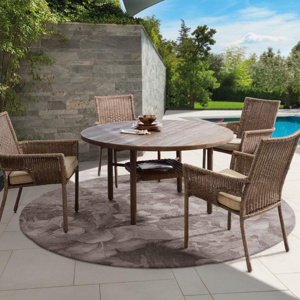 Outdoor Wicker Dining Chairs Shadbrook Dining Set