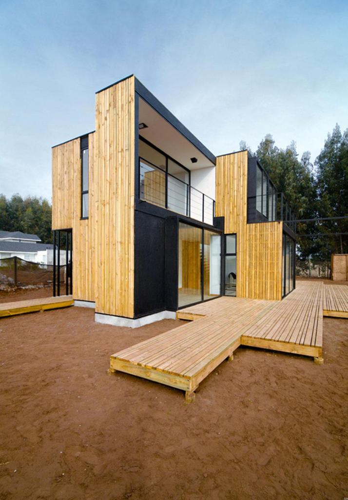 Casas Prefabricadas  Madera  Panel Sip Chile