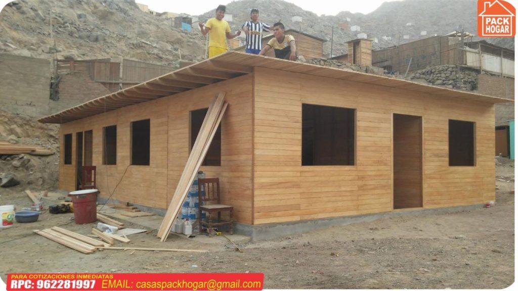 Casas Prefabricadas Precios Económicos En Lima Perú   Packhogar