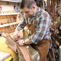 Building Saddles for the Working Cowboy