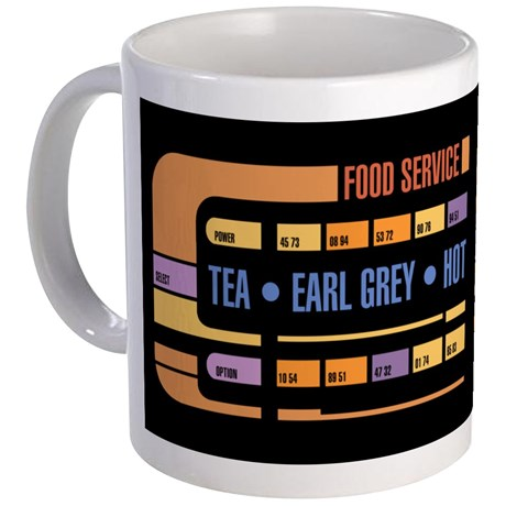 """Tea. Earl Grey. Hot."" - Amazon und die Sternenflotte"