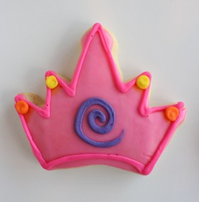 Princess Crown Cookie