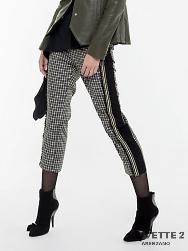 Abbigliamento Patrizia Pepe  Pantalone a sigaretta British Tweed female collezione 2020 shop the look