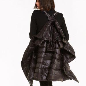 Abbigliamento Patrizia Pepe  Piumino lungo con cintura Black female collezione 2020 shop the look