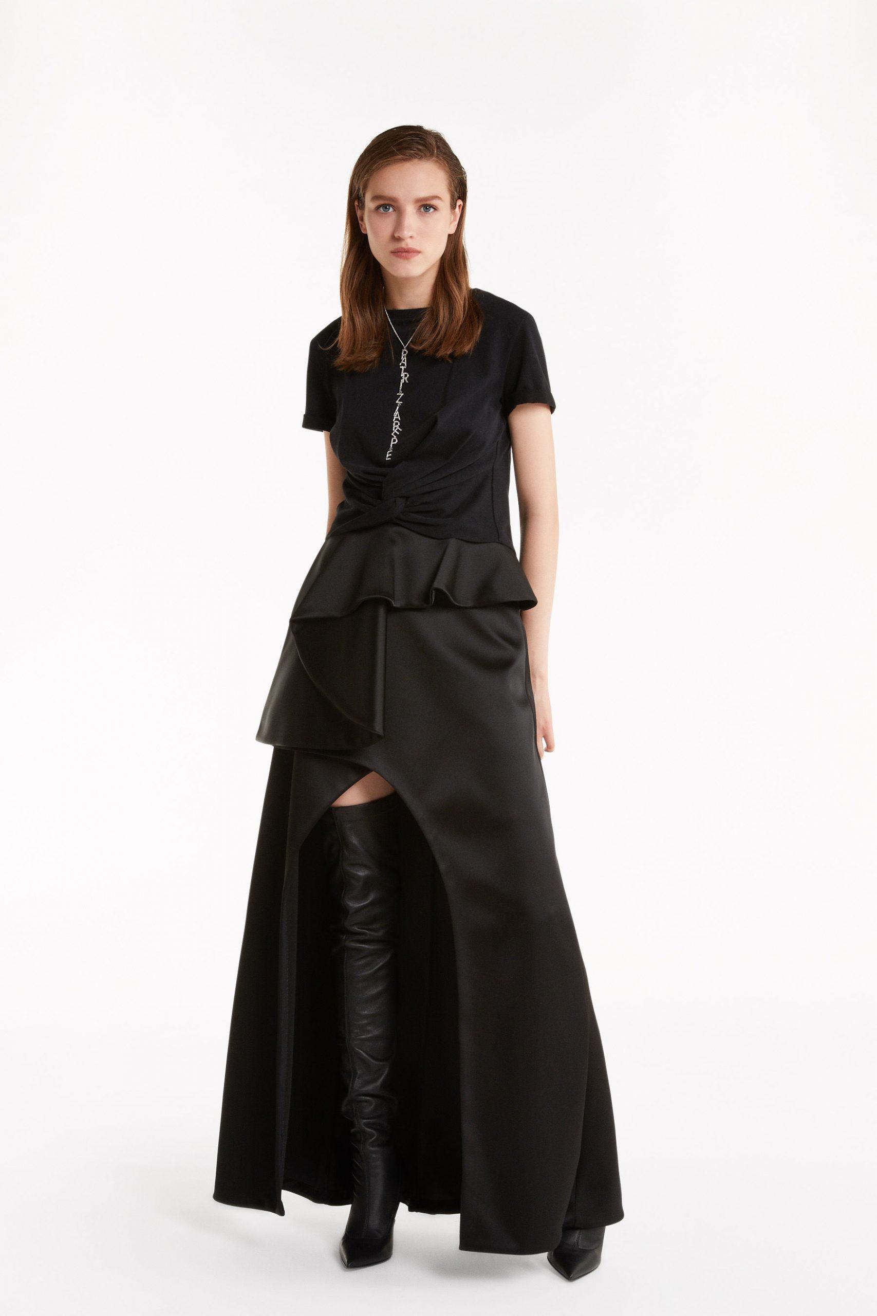 Abbigliamento Patrizia Pepe  Gonna Couture Black female collezione 2020 shop the look