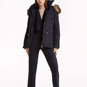 Abbigliamento Patrizia Pepe  Parka in Nylon imbottito Deep Blue female collezione 2020 shop the look