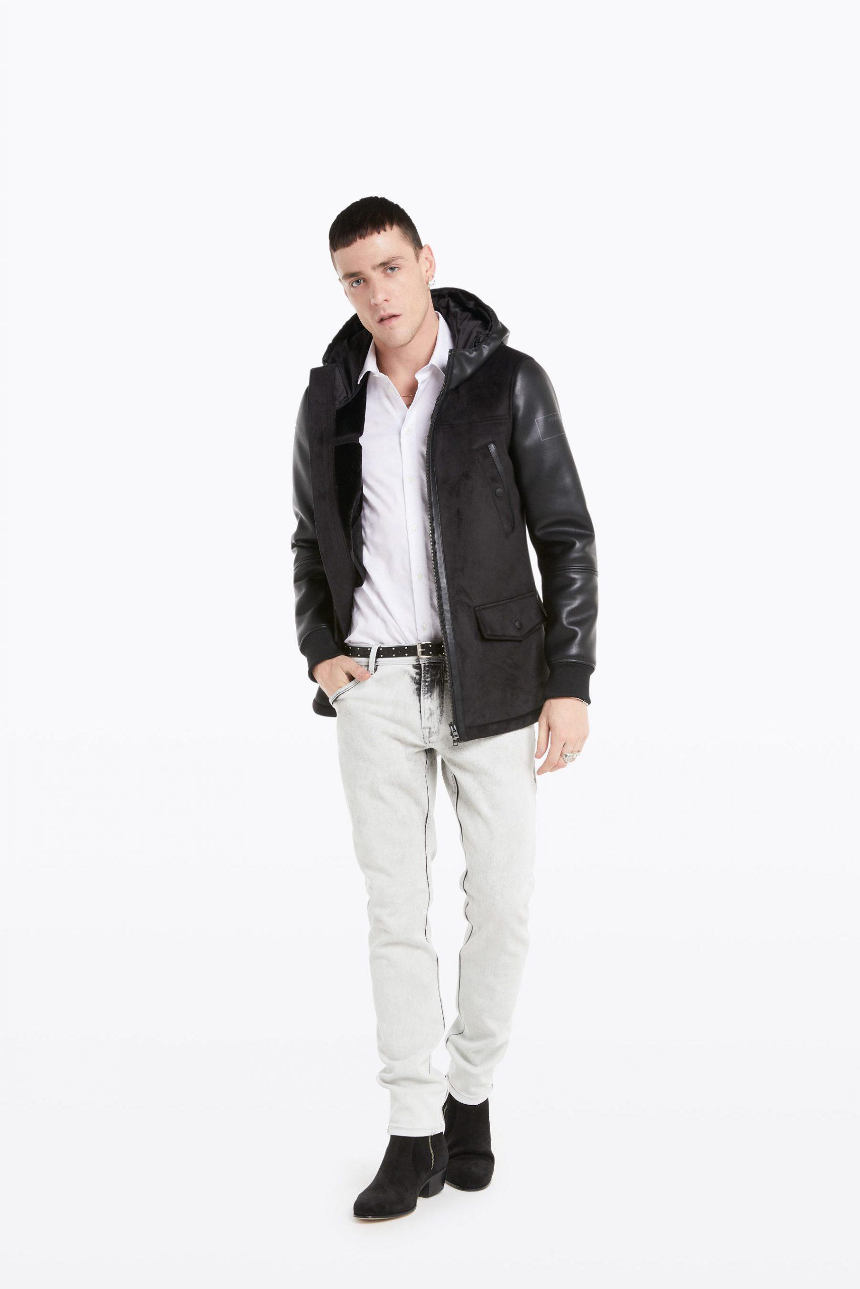 Abbigliamento Patrizia Pepe  Cappotto Montgomery NeroCamelia Rose male collezione 2020 shop the look